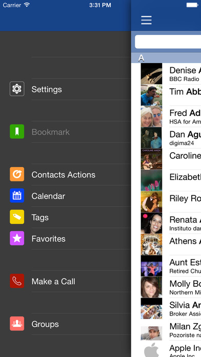 ContactsTap - Contacts Management iPhone Screenshot 5