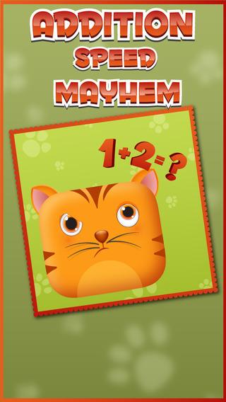 Animal Speed Math Quiz : Speedy Fun With Addition Trainer