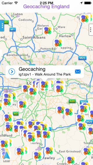 Geocaching England