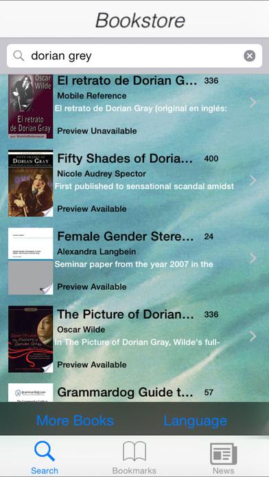 Book Shopping iPhone Screenshot 1