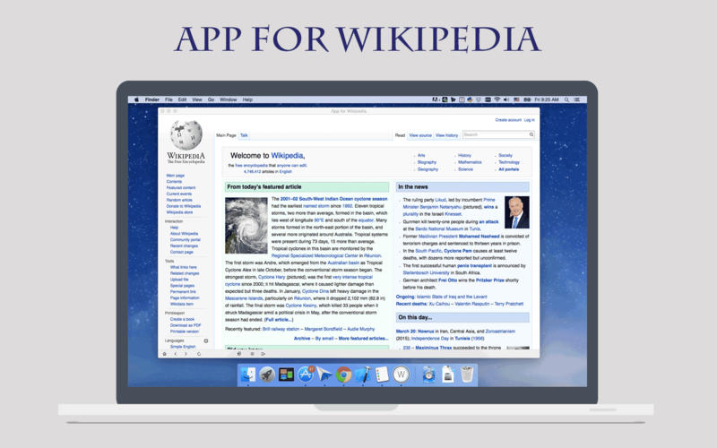 Quick Search for Wikipedia Screenshot - 3