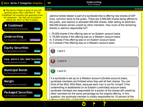 Series 7 Practice For Dummies iPad Screenshot 1