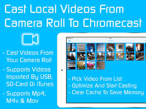 Video & TV Cast for Chromecast: Best Browser to cast and stream webvideos and local videos on TV & Displays Screenshots