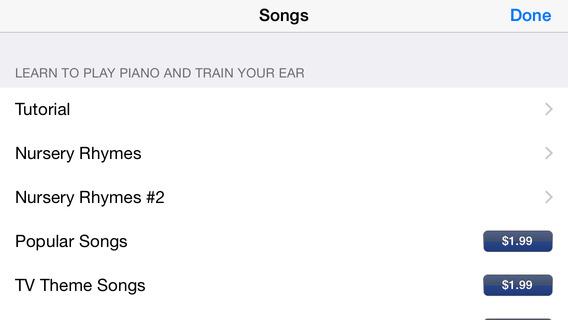 Screenshots for Perfect Pitch Piano Ear Training