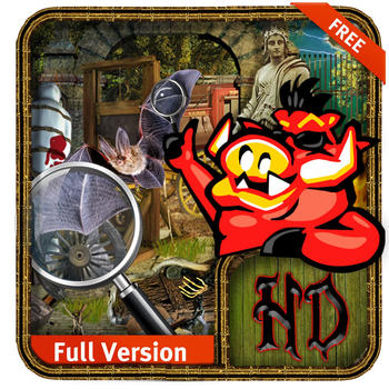 Escape from Haunted Town - Free Hidden Object Game LOGO-APP點子