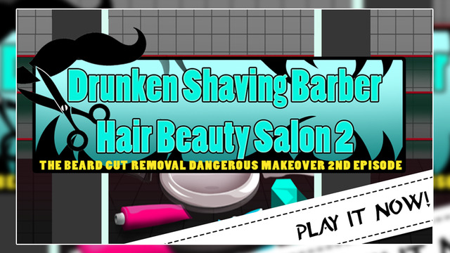 Drunken Shaving Barber Hair Beauty Salon 2 : The beard cut removal dangerous makeover 2nd episode -