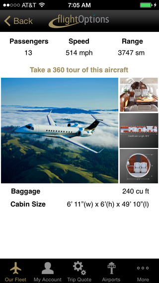 FlightOptions iPhone Screenshot 2