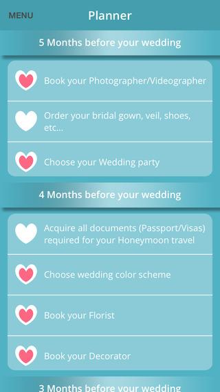 My Wedding Planner Checklist