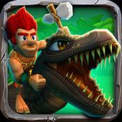原始人冲冲 – 山洞人跑酷 Caveman Dino Rush [iOS]