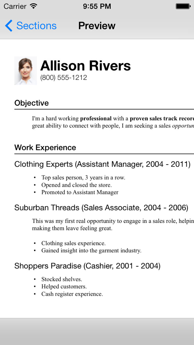 resume designer 3 best apps and