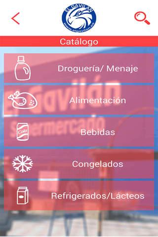 El Gavilán Supermercados screenshot 2