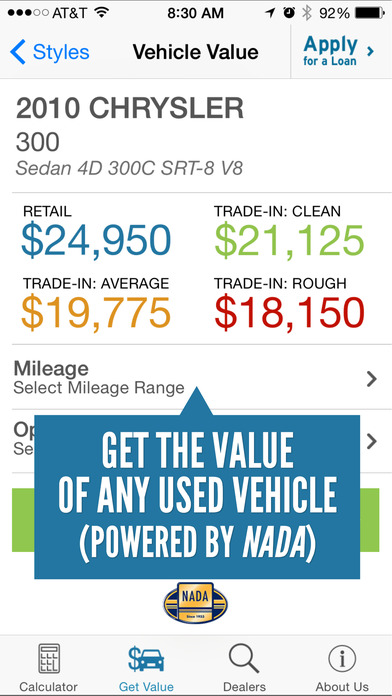RoadLoans.com Car Loan Calculator iPhone Screenshot 3