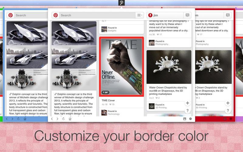 App for Pinterest Screenshot - 3