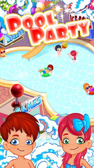 泳池派对 - 换装,化妆和游泳与您的朋友