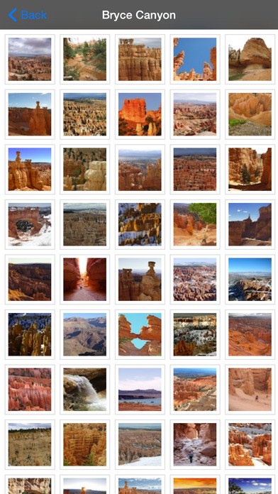 Bryce Canyon National Park - USA iPhone Screenshot 5