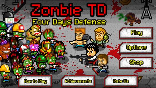 Zombie TD : 4 Days Defense