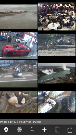 Live Cams Pro - Foscam Multi IP Camera Viewer