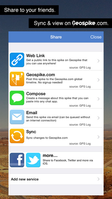 GPS Log iPhone Screenshot 4