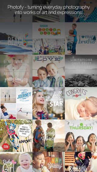 Photofy - Photo Editing Collage App