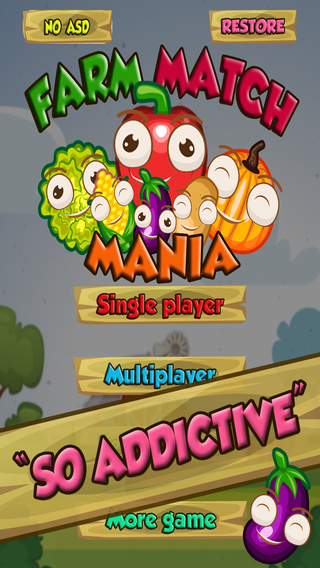 Farm Match Mania - Barnyard Animal Connect Brain Teaser Puzzle FREE
