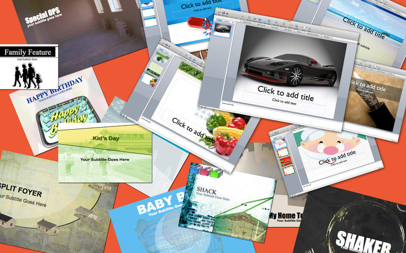 Template Collection for PowerPoint for Mac