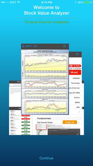 Stock Value Analyzer Pro
