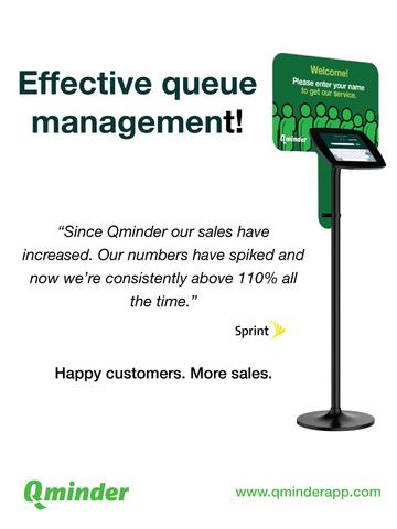 Qminder Sign-In - effective queue management