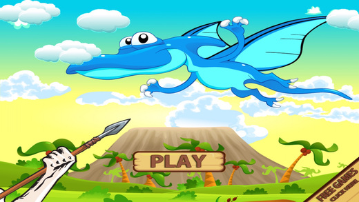 DINO HUNTING EXPEDITION PURSUIT - KNOCK FLYING BEAST DOWN