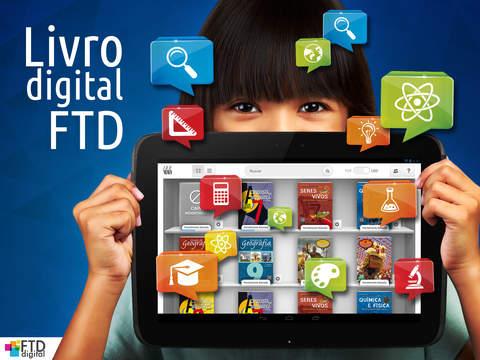 Leitor FTD de Livros Educacionais Digitais