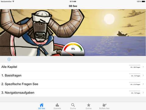 Sportbootführerschein-See iPad Screenshot 1