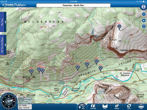 MyTopo Maps by Trimble Outdoors