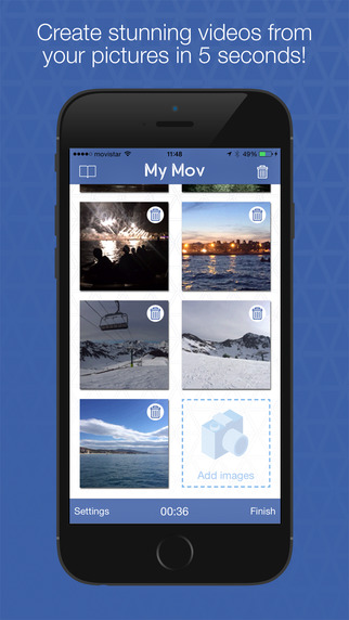 MyMov Photo to Video Editor - Convert your photos in videos slideshow