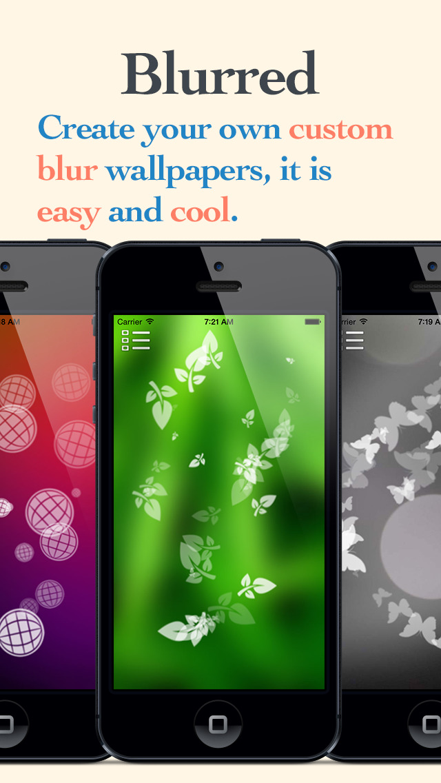 Blurred lite create your own custom blur wallpapers Design your own house app