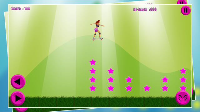 Girls Skaters 2 - The girl sport only skating skateboard toys free game