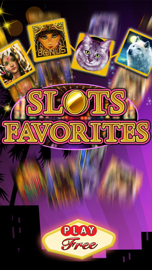SLOTS FAVORITES: FREE Las Vegas Casino Slot Machines Game  Screenshot