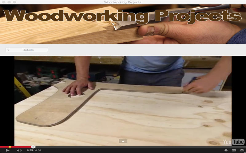 Woodworking Projects Screenshot - 3
