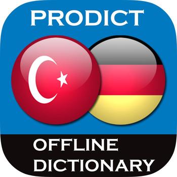 Turkish <> German Dictionary + Vocabulary trainer LOGO-APP點子