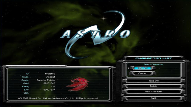 AstroN Screenshots