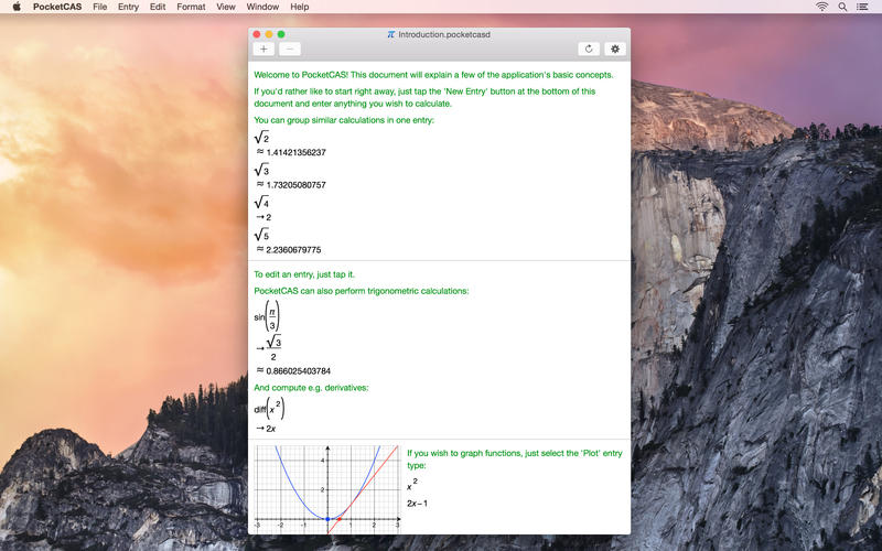 PocketCAS Screenshot - 4