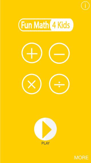 Fun Math 4 Kids Toddler and Primary School Children by KiDDyApps