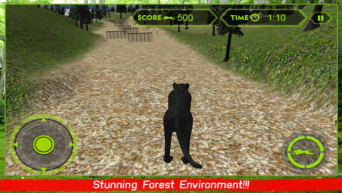 Dark Purple Jeep >> App Shopper: Wild Black Panther Attack Simulator 3D – Hunt the Zebra, Deer & Other Animal in ...