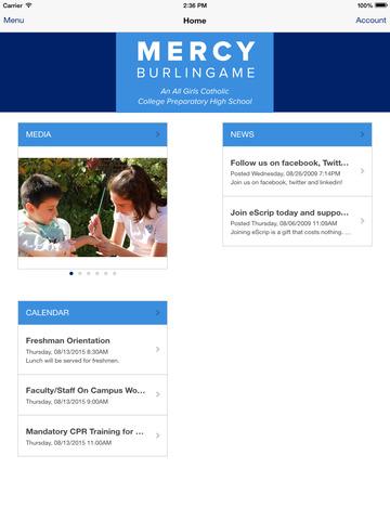 玩免費教育APP|下載Mercy HS Burlingame app不用錢|硬是要APP