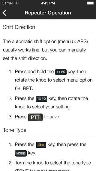 VX-3 Guide iPhone Screenshot 3