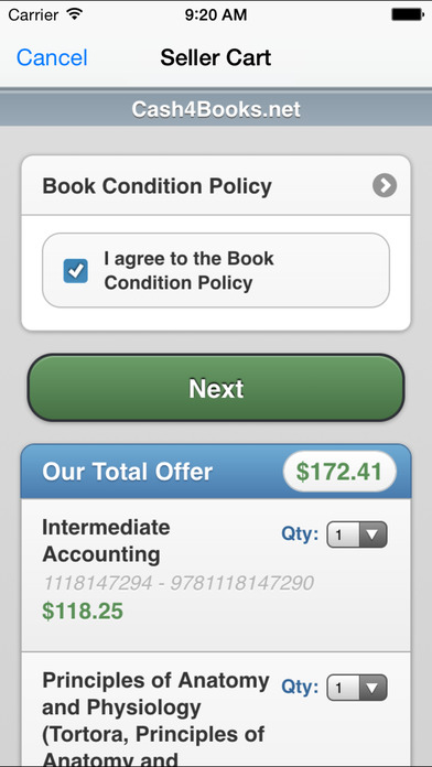 Shipping is free and you can get paid with a check, PayPal, or store credit. They also have a mobile app to make selling textbooks easy. ValoreBooks. ValoreBooks is another textbook comparison website that claims to compare the prices from hundreds of buyers. Sold books are shipped for free and you can be paid with check or PayPal.