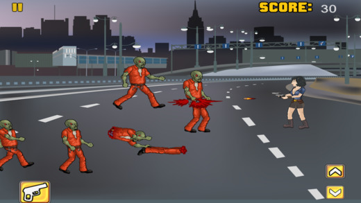 Shoot And Fire The Zombies - Walk The Dead Route Highway