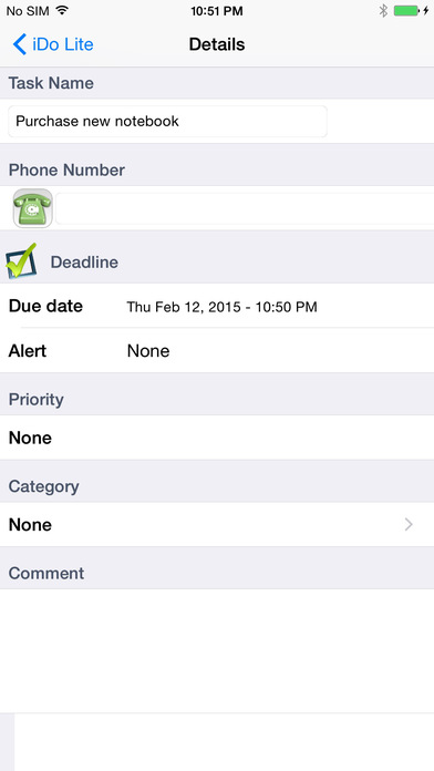 iDo Lite iPhone Screenshot 2