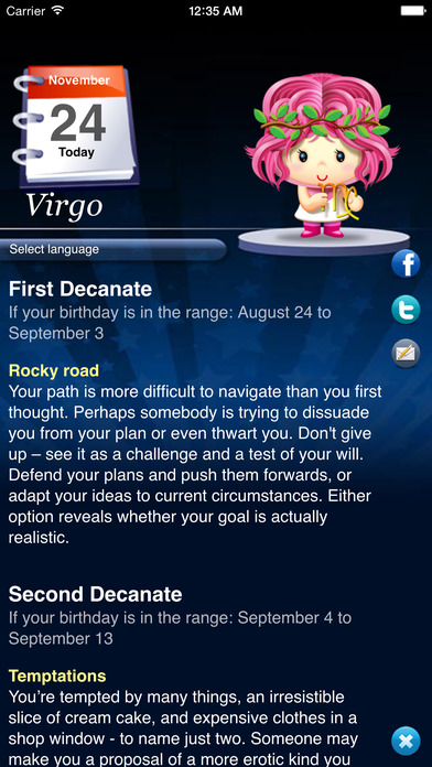 Horoscope HD Pro iPhone Screenshot 3