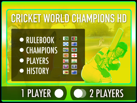 Cricket World Champions HD