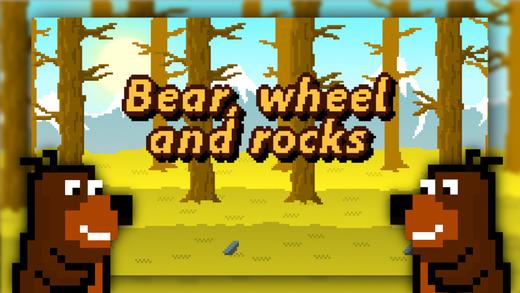 Bear Wheel And Rocks