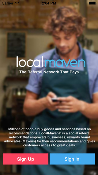 LocalMaven - The referral network that pays